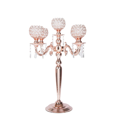 "25"" Tall 5 Arm Blush 