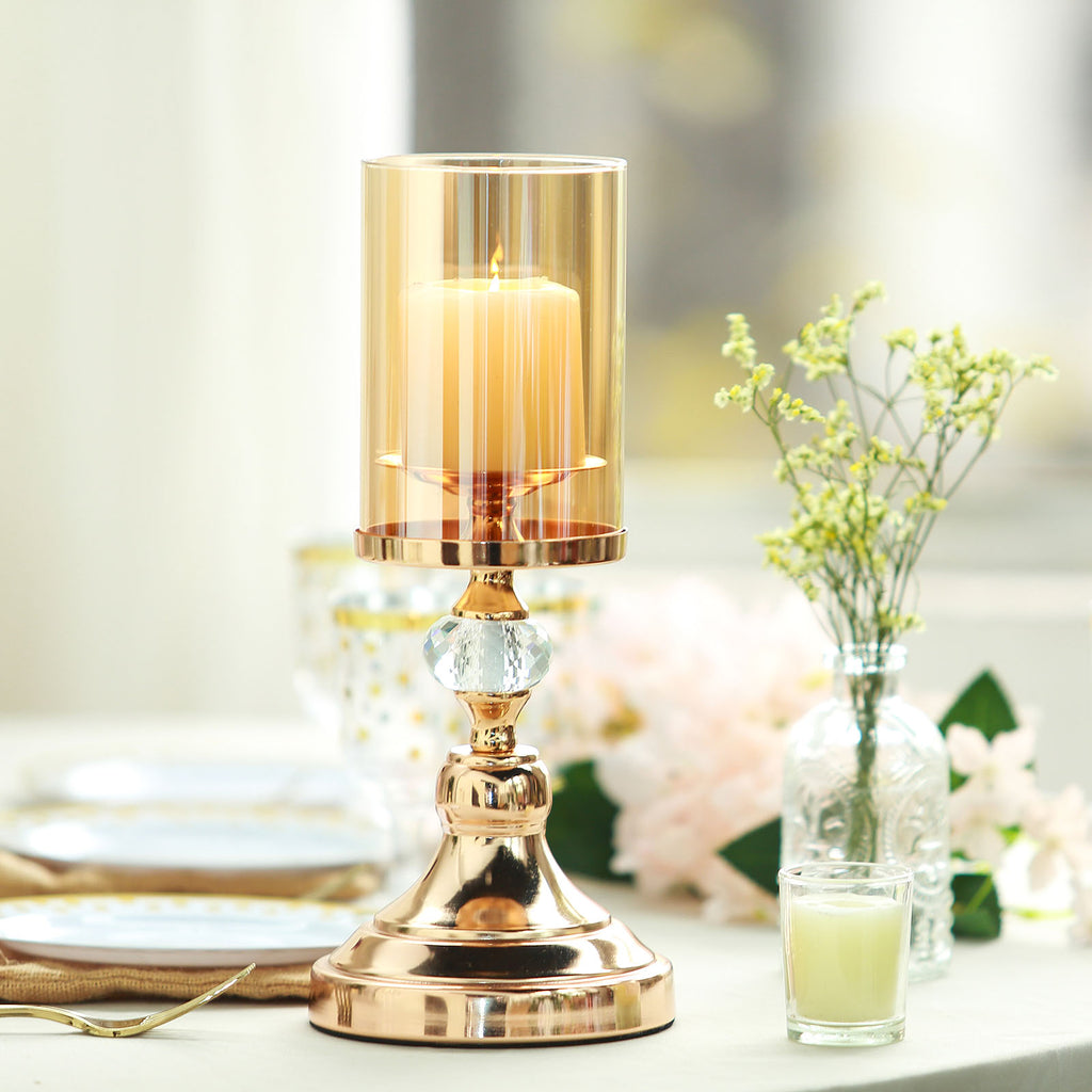 Gold Glass Hurricane Candle Holder Cheaper Than Retail Price Buy Clothing Accessories And Lifestyle Products For Women Men