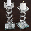 "7"" Gemcut Egyptian Handcrafted Crystal Glass Votive Candle Holder Table Top - 1pcs"