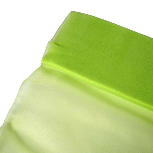 "Chiffon Fabric Bolt - 54""x10 Yards - Apple Green"