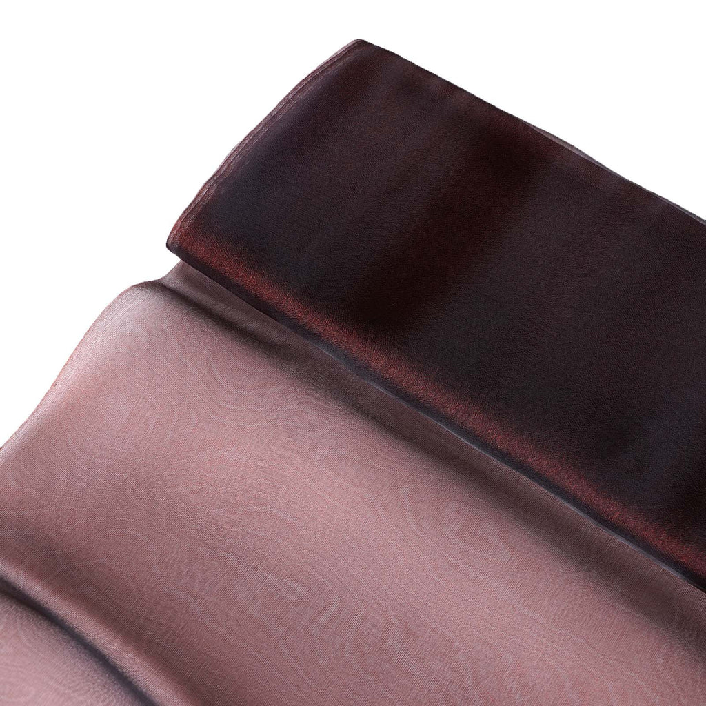 "Chiffon Fabric Bolt 54"" x 10Yards - Chocolate"