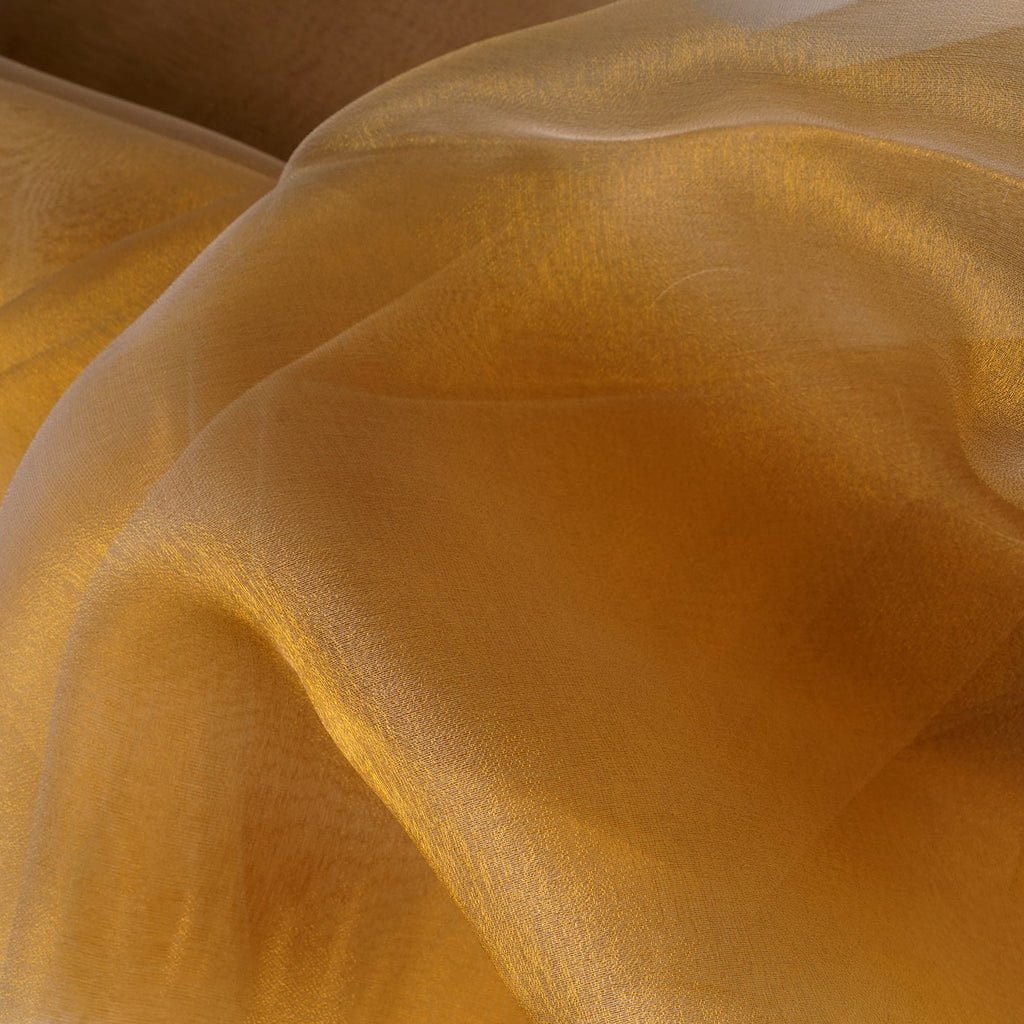 54 Quot 10 Yards Gold Solid Color Sheer Chiffon Fabric By