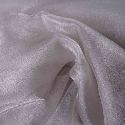 "Chiffon Fabric Bolt - 54""x10 Yards - Silver"