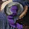 Silk Chiffon Ribbon, Frayed Edge Ribbon, Wedding Ribbons