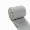 Set of 2 Silver Chiffon Ribbon Rolls For Bouquets, Wedding Invitations & Gift Wrapping