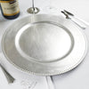 Silver Charger Plates & Party Supplies
