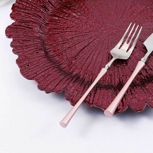 Plastic Charger Plates, Disposable Dinnerware