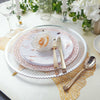 Clear Plastic Charger Plates, Wedding Charger Plates