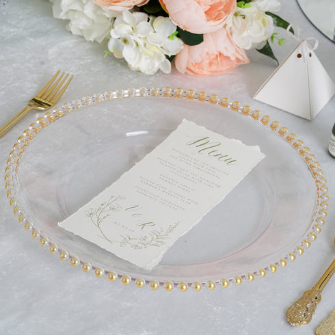 Acrylic Charger Plates, Wedding Chargers, Dinnerware