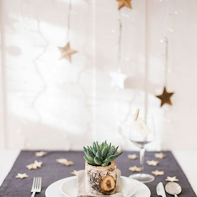 Twinkling Metallic Foil Star Confetti Sprinkles -  Gold - 300pcs