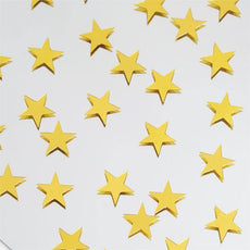 Twinkling Metallic Foil Wedding-Party Star Confetti Sprinkles-300 PCS-Gold
