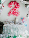 300 PCS Assorted Metallic Foil Birthday Party Confetti Decoration