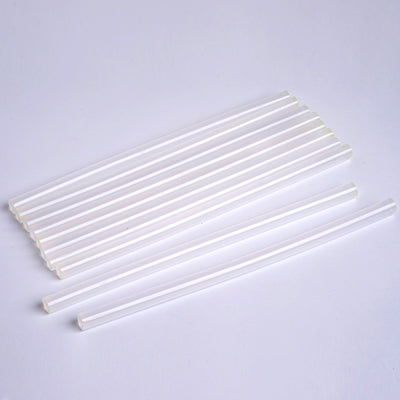 "Hot Melt Glue Sticks - 11mm x 10"" - Clear - 10pcs"