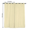 Window Semi Sheer Curtains Window Treatments Linen Curtains Home Decor - Ivory