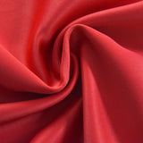 "Blackout Curtains 52x64"" Red Pack of 2 Thermal Insulated With Chrome Grommet Window Treatment Panels"