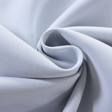 "Blackout Curtains 54x64"" White Pack of 2 Thermal Insulated With Chrome Grommet Curtain Panels"