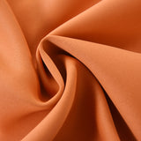 "Blackout Curtains 52x84"" Orange Pack of 2 Thermal Insulated With Chrome Grommet Window Treatment Panels"