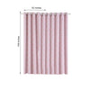 "2 Pack | 52""x108""Lattice Print Thermal Blackout Curtains With Chrome Grommet Window Treatment Panels - White 