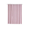 "Pack of 2 | 52""x108""Lattice Print Thermal Blackout Curtains With Chrome Grommet Window Treatment Panels - White 
