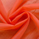 "Pack of 2 - 52""x64"" Coral Sheer Organza Curtains With Rod Pocket Window Treatment Panels"