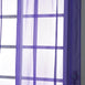 "52""x 64"" Purple Pack of 2 Sheer Organza with Rod Pocket Window Treatment Curtain Panels"