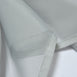 "52""x 84"" Silver Pack of 2 Sheer Organza with Rod Pocket Window Treatment Curtain Panels"