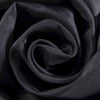 "40Ft Black Ceiling Drapes Sheer Curtain Panels Fire Retardant Fabric With 4"" Pocket"