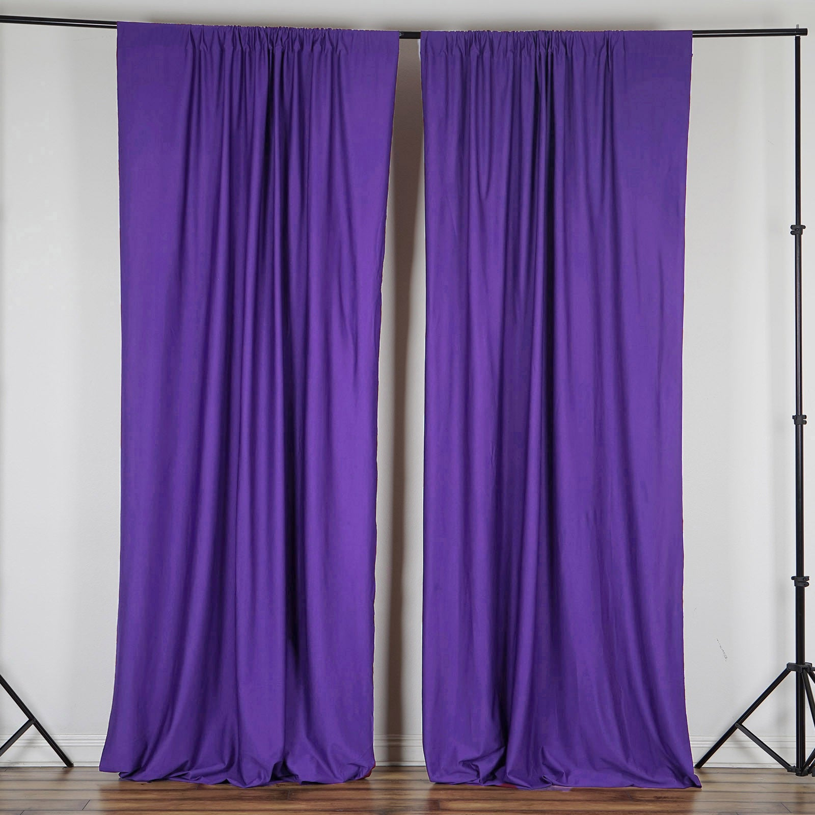 voile purple no com panels ip rod curtains walmart sheer pocket curtain calypso panel