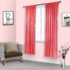 "Pack of 2 | 52""x96"" Coral Sequin Curtains With Rod Pocket Window Treatment Panels"