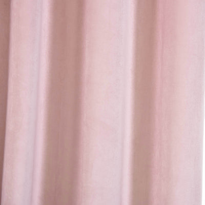 "Blackout Curtains Soft Velvet 52""x108"" Blush Pack of 2 Thermal Insulated With Chrome Grommet Window Treatment Panels"