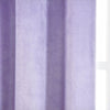 "Pack of 2 | 52""X108"" Lavender Soft Velvet Thermal Blackout Curtains With Chrome Grommet Window Treatment Panels"