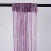 3ft x 12ft  Silk Tassel Door String Curtain- Rose Gold | Blush