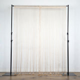 3ft x 8ft Champagne Silk Tassel Door String Curtain