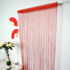 8 Ft Long Red Silk String Tassels Backdrop Curtains for Party