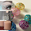 Silver Self Adhesive Pearl Rhinestone Sticker - Peel & Stick DIY Craft Gem Stickers