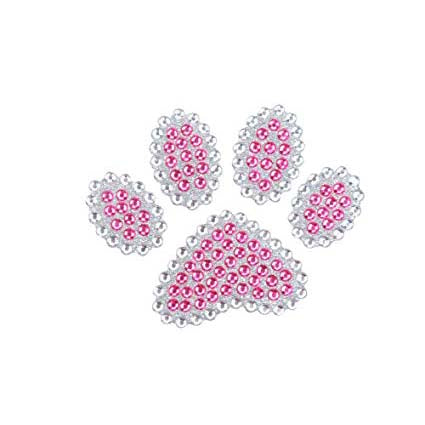 486 Pcs Multi-sized Pink Diamond Rhinestone Stickers