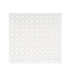 600 Pcs White Diamond Rhinestone Heart Shaped Stickers