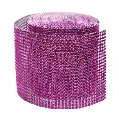 "PAR EXCELLENCE Endless Diamond Roll 4.5""x10 yards/roll Fushia"