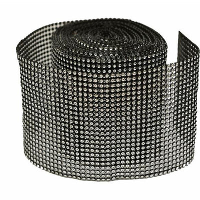 "PAR EXCELLENCE Endless Diamond Roll 4.5""x10 yards/roll Black Ver. 1"