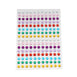 1056 Pcs | Rainbow | Self Adhesive Rhinestone Sheets Wholesale I Adhesive Gemstones