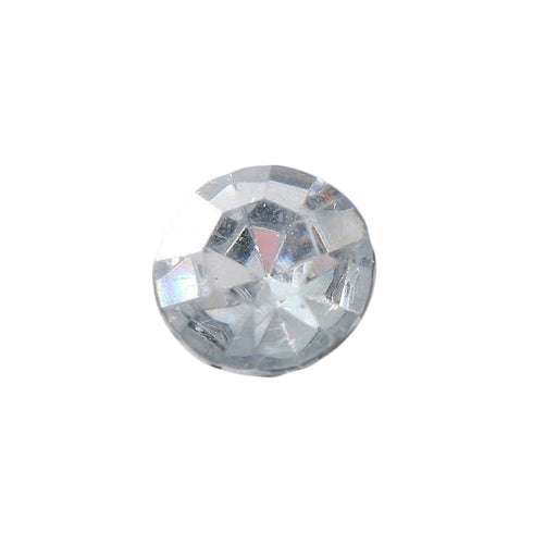 1000 Pcs Clear Round Diamond Rhinestones