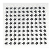 600 Pcs Black Diamond Rhinestone Star Shaped Stickers