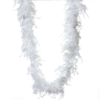 Lush-Chandelle Turkey Boas - White 2 Yards  50gram