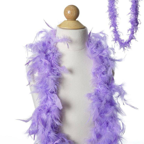 Lush-Chandelle Turkey Boas-Lavender-2 Yards 50g