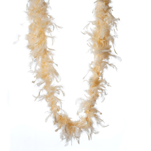 Lush-Chandelle Turkey Boas-Peach-2 Yards 50g