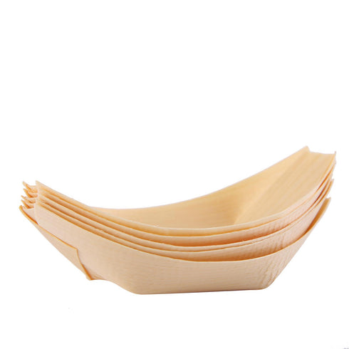 Food Boat, Wooden Tray, Biodegradable Plates