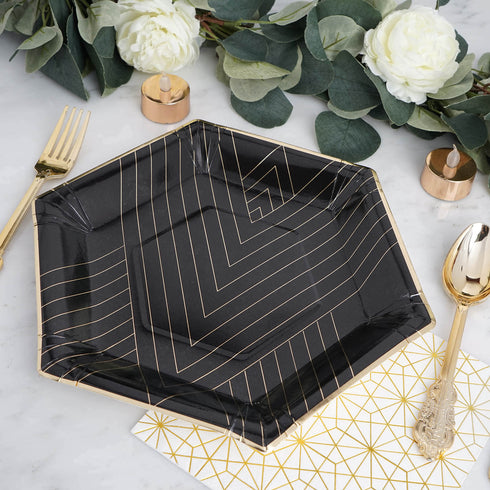 Black Charger Plates Set of 25 Black Chargers For Dinner Plates for Wedding Catering Fancy Events