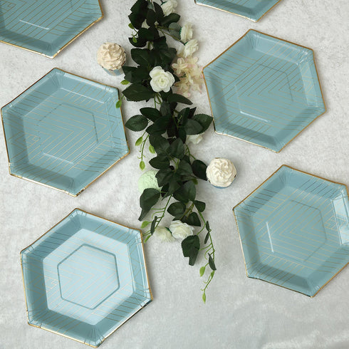 Hexagon Dinner Plates | Paper Plates | Disposable Plates