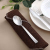 Hammered Design Plastic Spoon, Plastic Silverware