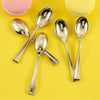 Plastic Spoon, Mini Spoons, Dessert Spoon